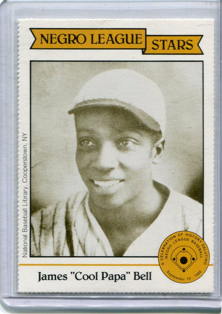 1988 Negro League Duquesne Light Co. #14 James(Cool Papa) Bell