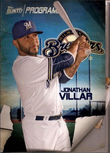 Photo of 2017 Topps Bunt Programs #PRJV Jonathan Villar