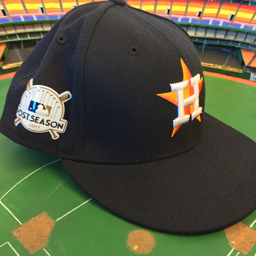 Photo of ALCS Game 7 - Gary Pettis Game-Used Postseason Hat