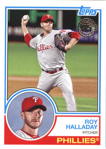 Photo of 2018 Topps '83 Topps #8344 Roy Halladay