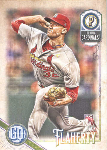 Photo of 2018 Topps Gypsy Queen #36 Jack Flaherty RC