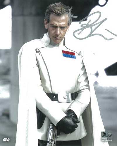 Ben Mendelsohn as Director Orson Krennic 8x10 Autographed in Silver Ink Photo