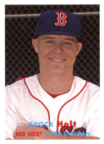 Photo of 2015 Topps Archives #12 Brock Holt
