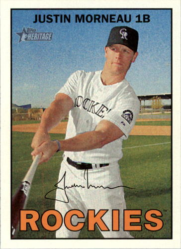 Photo of 2016 Topps Heritage #294 Justin Morneau