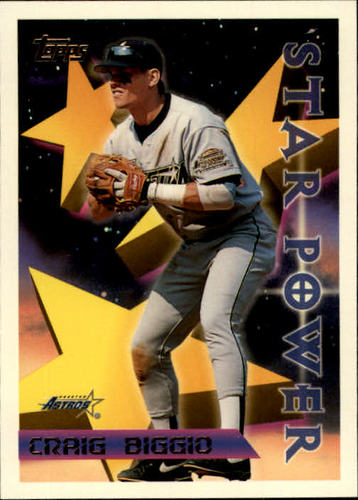 Photo of 1996 Topps #9 Craig Biggio STP