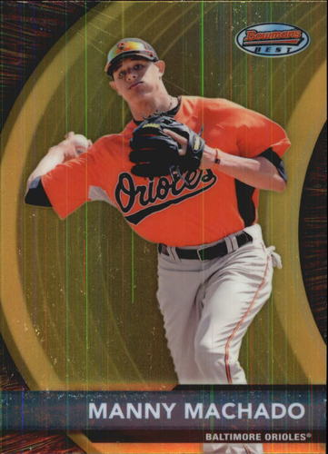 Photo of 2012 Bowman Bowman's Best Prospects #BBP2 Manny Machado