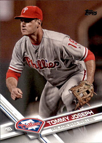 Photo of 2017 Topps #431 Tommy Joseph