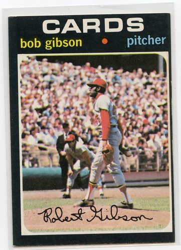 Photo of 1971 Topps #450 Bob Gibson