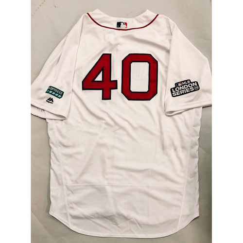 2019 London Series - Game-Used Jersey - Marco Hernandez, New York Yankees vs Boston Red Sox - 6/29/19
