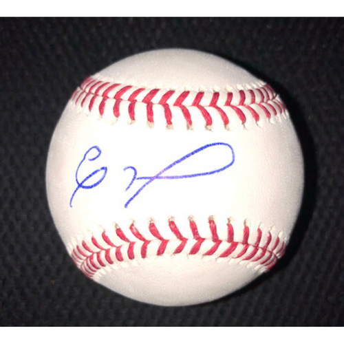 Photo of Eloy Jimenez Autographed Baseball