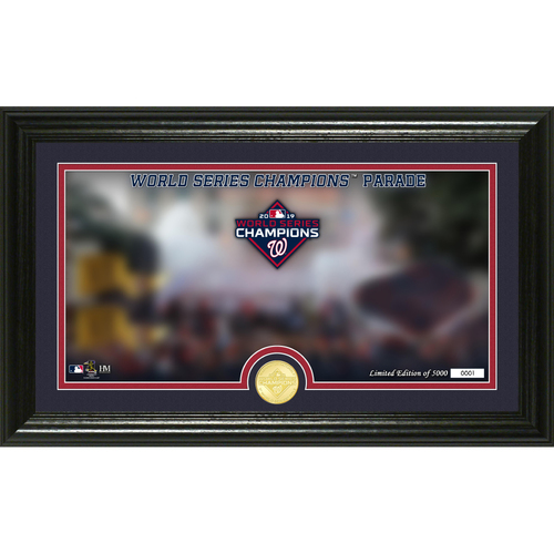 Photo of Washington Nationals 2019 World Series Champions Parade Single Coin Photo Mint
