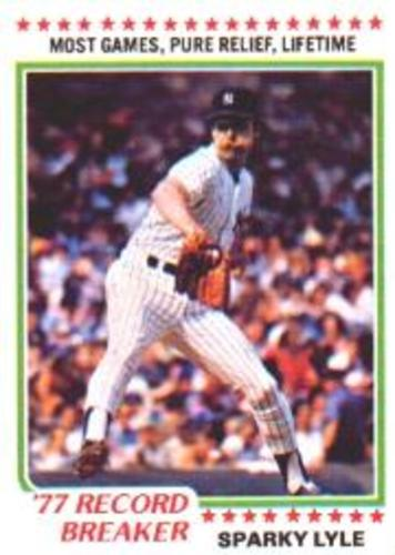 Photo of 1978 Topps #2 Sparky Lyle RB