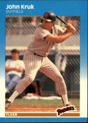 Photo of 1987 Fleer #420 John Kruk RC