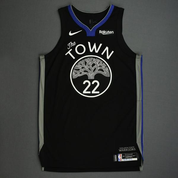 Image of Glenn Robinson III - Golden State Warriors - Christmas Day' 19 - Game-Worn City Edition Jersey