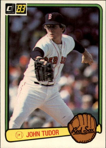 Photo of 1983 Donruss #563 John Tudor