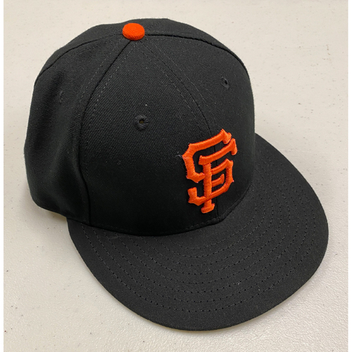 Photo of 2019 Team Issued Regular Season Black Cap - #1  - Size 7