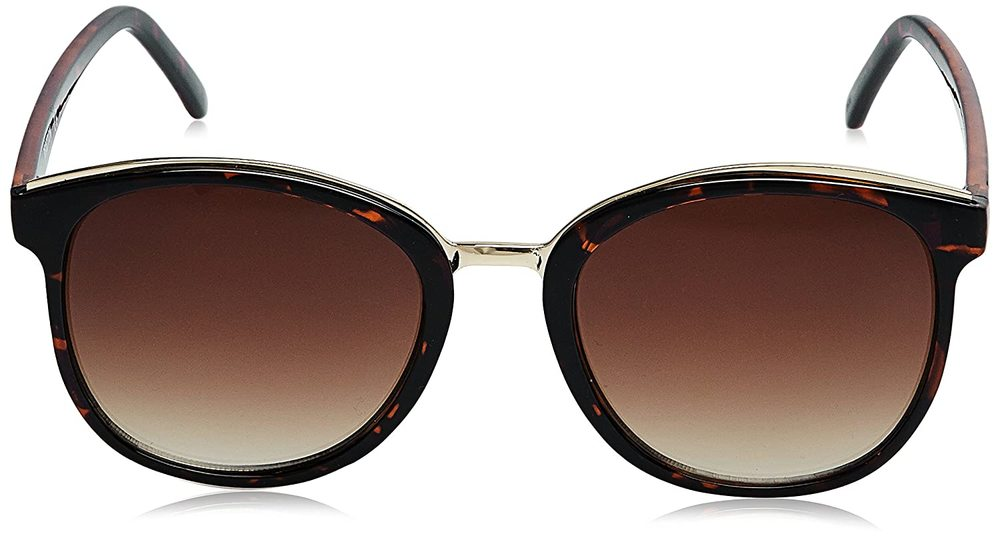 Photo of Kenneth Cole KC2767-52F Square Brown Tortoise with Gold /Brown Lenses Sunglasses
