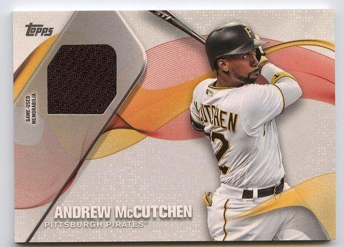 Photo of 2017 Topps Major League Materials #MLMAM Andrew McCutchen S2