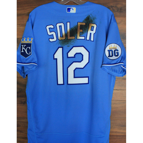 Photo of Alex's Lemonade Stand Foundation: Team-Issued Jorge Soler Jersey (Size 44 - Authenticated as Team-Issued on 9/26/20 DET @ KC)