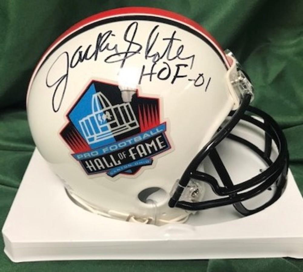 PCC - Rams Jackie Slater Signed HOF Mini Helmet (benefitting the Marty Lyons Foundation)