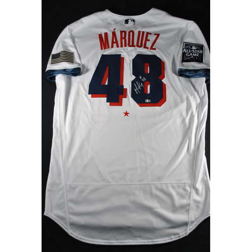 Photo of German Marquez 2021 Major League Baseball All-Star Game Autographed Jersey