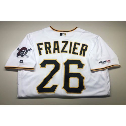 Photo of Game-Used Jersey: Adam Frazier (2019)