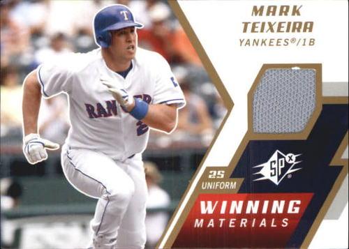 Photo of 2009 SPx Winning Materials #WMMT Mark Teixeira