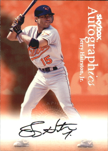 Photo of 2000 SkyBox Autographics #56 Jerry Hairston Jr.