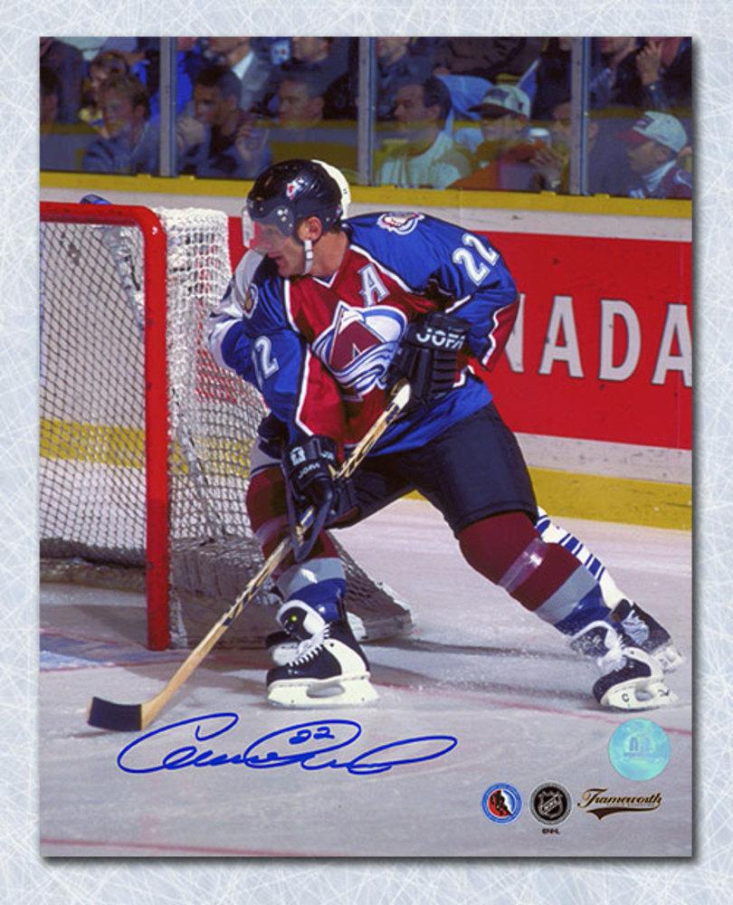 Claude Lemieux Colorado Avalanche Autographed 8x10 Photo