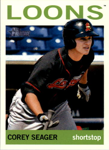 Photo of 2013 Topps Heritage Minors #95A Corey Seager