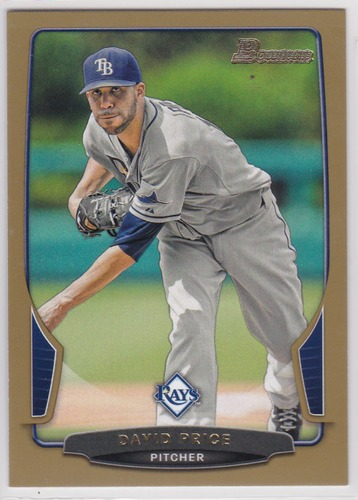 Photo of 2013 Bowman Gold #49 David Price