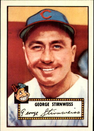 Photo of 1983 Topps 1952 Reprint #217 Snuffy Stirnweiss