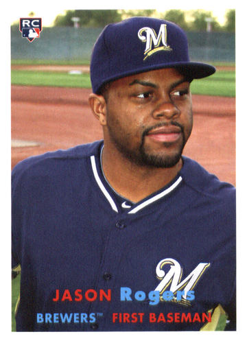 Photo of 2015 Topps Archives #15 Jason Rogers RC