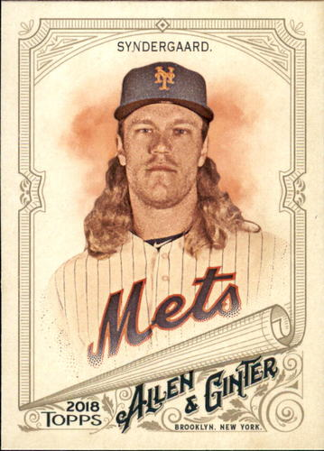 Photo of 2018 Topps Allen and Ginter #21 Noah Syndergaard