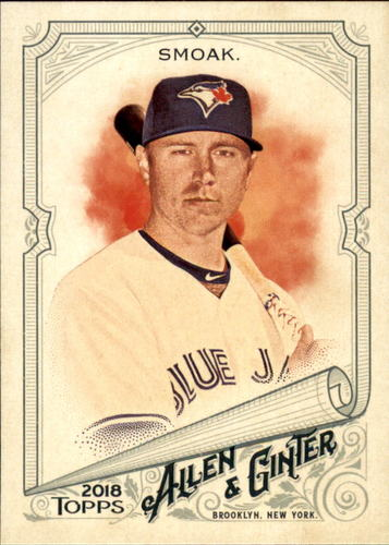 Photo of 2018 Topps Allen and Ginter #194 Justin Smoak