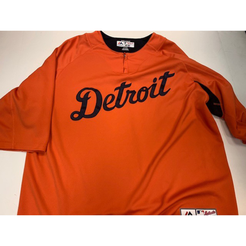 Photo of Team-Issued #61 Road Batting Practice Jersey