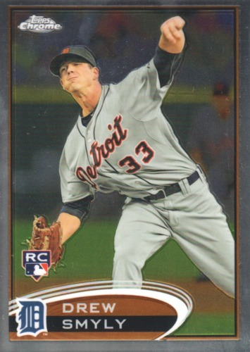 Photo of 2012 Topps Chrome #191 Drew Smyly RC