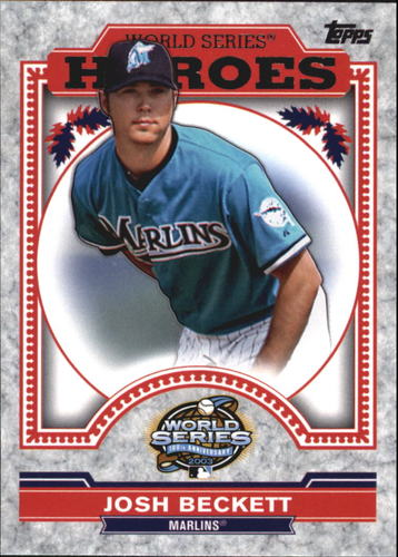 Photo of 2014 Topps Update World Series Heroes #WSHJB Josh Beckett