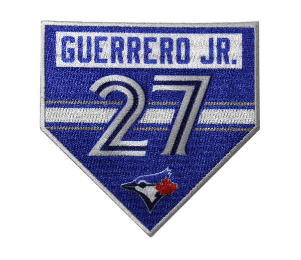 Toronto Blue Jays Guerrero Jr. Hard Hit Fan Patch by The Emblem Source