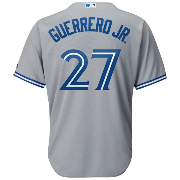 Toronto Blue Jays Vladimir Guerrero Jr. Replica Road Jersey by Majestic