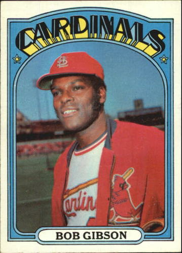 Photo of 1972 Topps #130 Bob Gibson