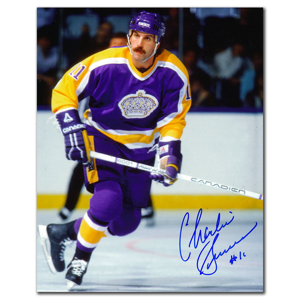 Charlie Simmer Los Angeles Kings Autographed 8x10