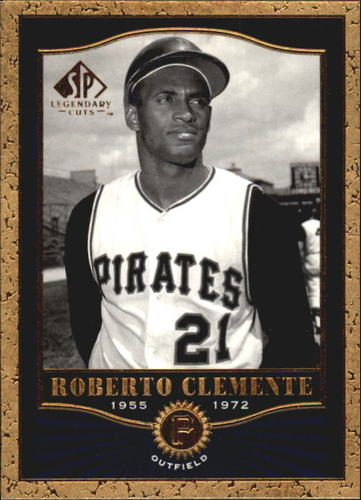 Photo of 2001 SP Legendary Cuts #60 Roberto Clemente