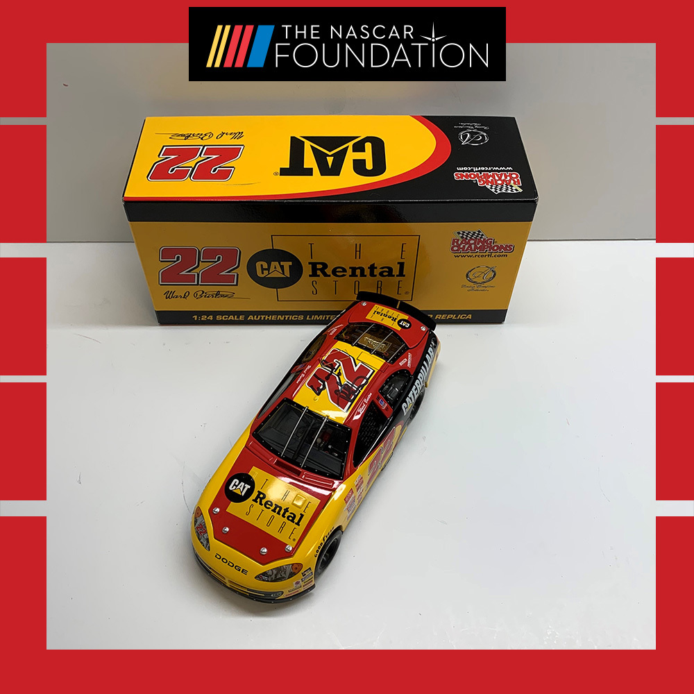 NASCAR's Ward Burton Autographed #22 Diecast!