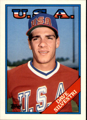 Photo of 1988 Topps Traded #107T Dave Silvestri OLY XRC