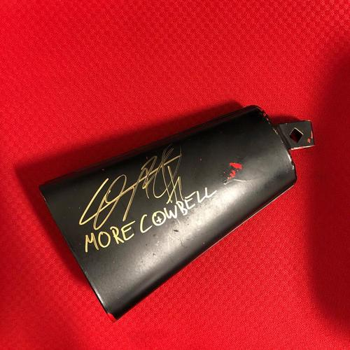 Photo of Cesaro USED & SIGNED Cowbell (SmackDown - 02/14/20)