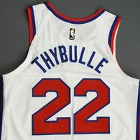Matisse Thybulle - Philadelphia 76ers - Game-Worn Classic Edition 1970-71 Home Jersey - 2019-20 Season