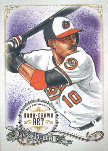 Photo of 2017 Topps Gypsy Queen Hand Drawn Art Reproductions #GQARAJ2 Adam Jones