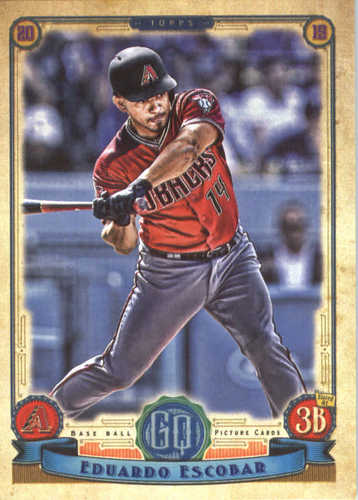 Photo of 2019 Topps Gypsy Queen #295 Eduardo Escobar
