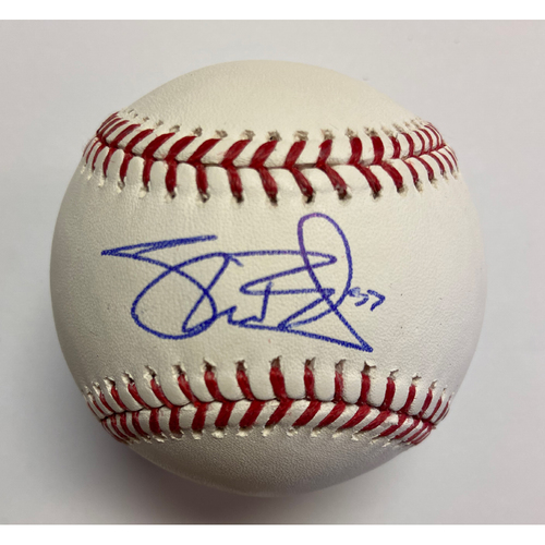 Photo of Shane Bieber Autographed Authentic Baseball